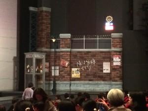 東京宝塚劇場の上手側。