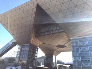 東京ビックサイト。考えてみれば人生初の訪問だと思います。